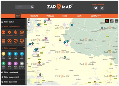 ENERGY Zap Map Devizes