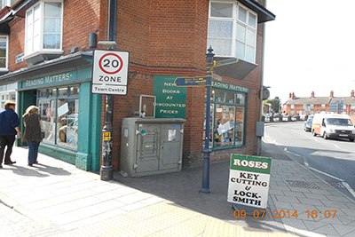 Roses Sidmouth Street WIL3 site